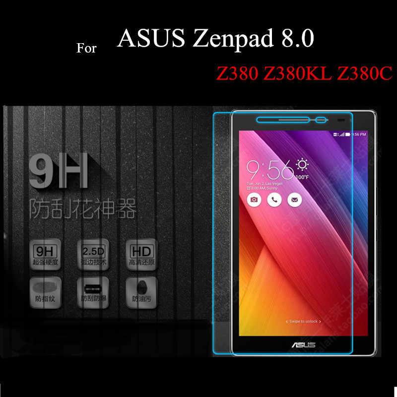 ZenPad 3 8,0 Z581 закаленное Стекло Защитная крышка для ASUS Zenpad 8,0 ''Z380 Z380KL Z380C Zenpad S 8,0 Z580CA Z580C протекторы планшета
