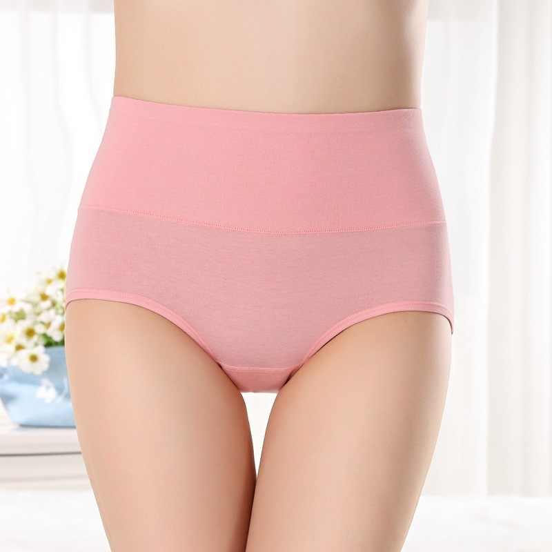المرأة ملخصات مريحة القطن النساء مثير رقيقة جدا سراويل عالية الخصر الذاتي زراعة الدفء الملابس الداخلية