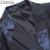 Hombres Floral Print Chaquetas del Juego Más El Tamaño M-6XL de Dos Botones Blazer Chaquetas Abrigos de Moda de Lujo Delgadas Manga Completa K256