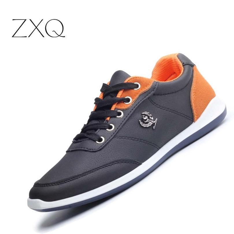 Neue 2017 Männer Schuhe Lace Up Designer Frühling Herbst Mode Männer Freizeitschuhe Männer Schuhe Für Männer Schwarz Blau