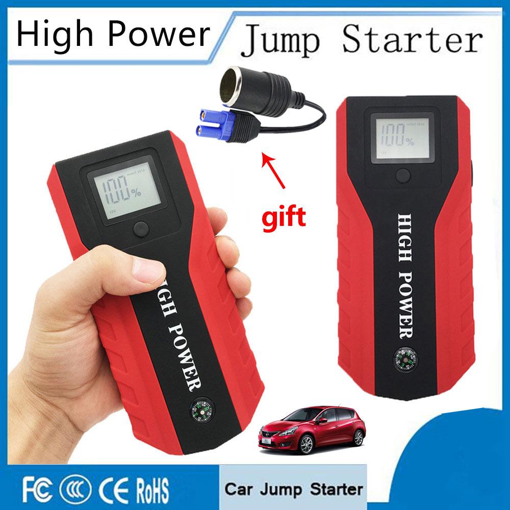 High Power 89800mAh Emergency 12V Car Jump Starter Auto Jump Engine Power Bank Starting Device Car