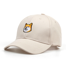 2018 New Embroidery Firewood Dog Expression Dad Cap