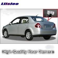 Автомобиль Камера для Nissan Tiida Latio Versa trazo C11 4D седан 2004 ~ 2015 liislee Высокое качество заднего вида Резервное копирование камера для | RCA