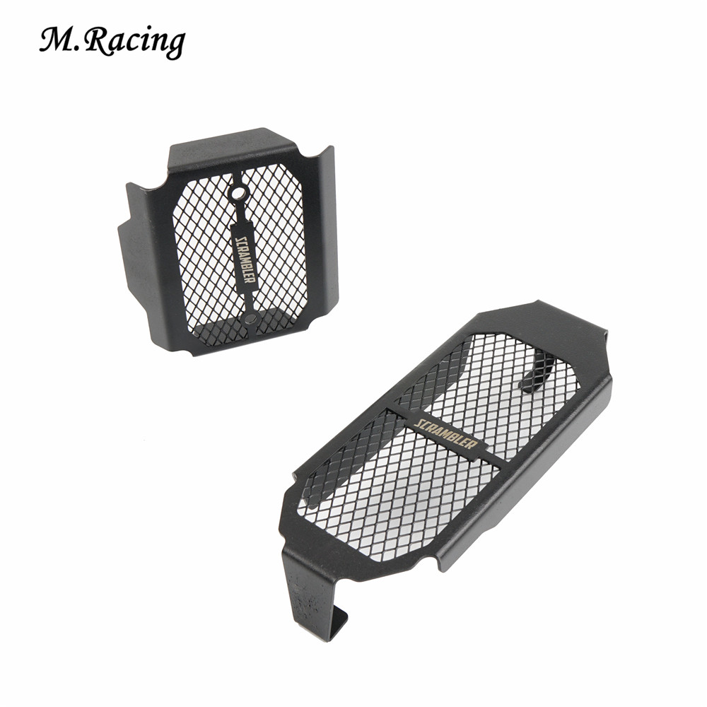 Motorcycle Oil Cooler Protection Radiator Grille Guard Fairing For Monster 797 Scrambler 800  2015-2016
