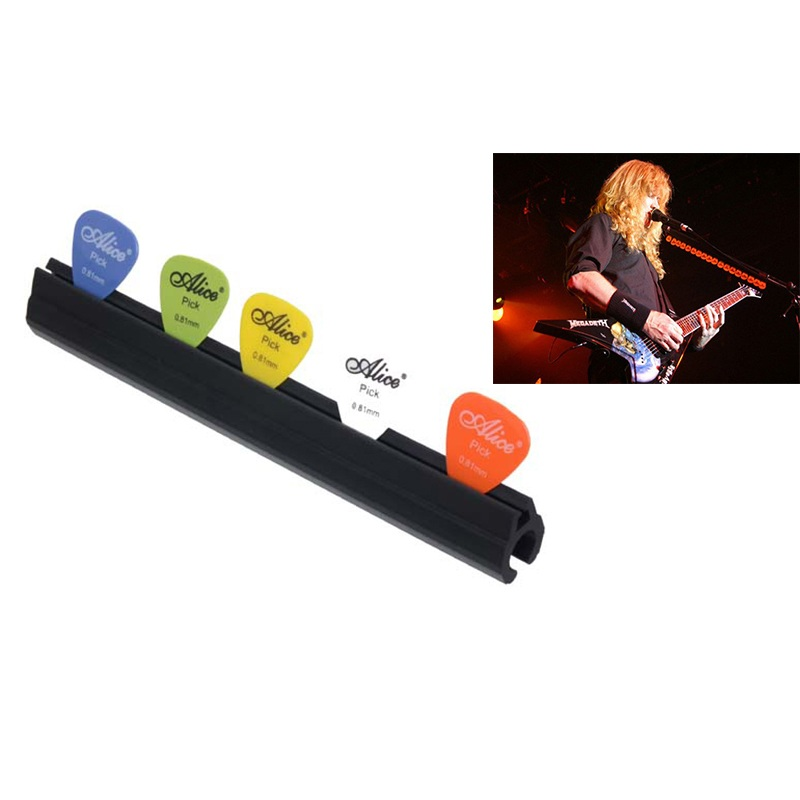 microphone mic stand pick holder hold 5 bass guitar picks clip on micstand on stage alice a010d. Black Bedroom Furniture Sets. Home Design Ideas