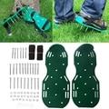 1 пара садовых травяных культиваторов  аэратор для газонов  средство для туфель