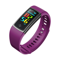 S9 Smart Band Color IPS Screen Waterproof Fitness Tracker Bracelet Heart Rate Monitor Sport Pedometer Wristband