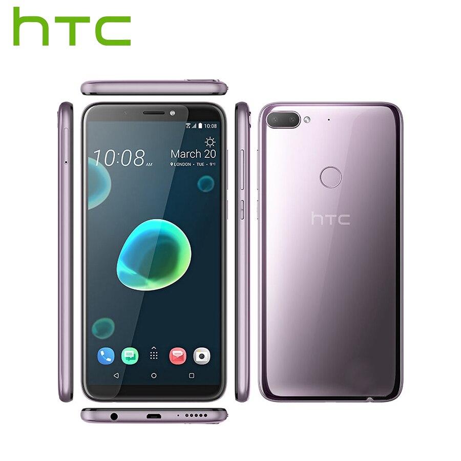 Brand New HTC Desire 12 Plus Mobile Phone Dual SIM 6.0 inch 3GB RAM 32GB ROM <font><b>13MP</b></font> Snapdragon 450 Octa core Android 8 <font><b>Smartphone</b></font>