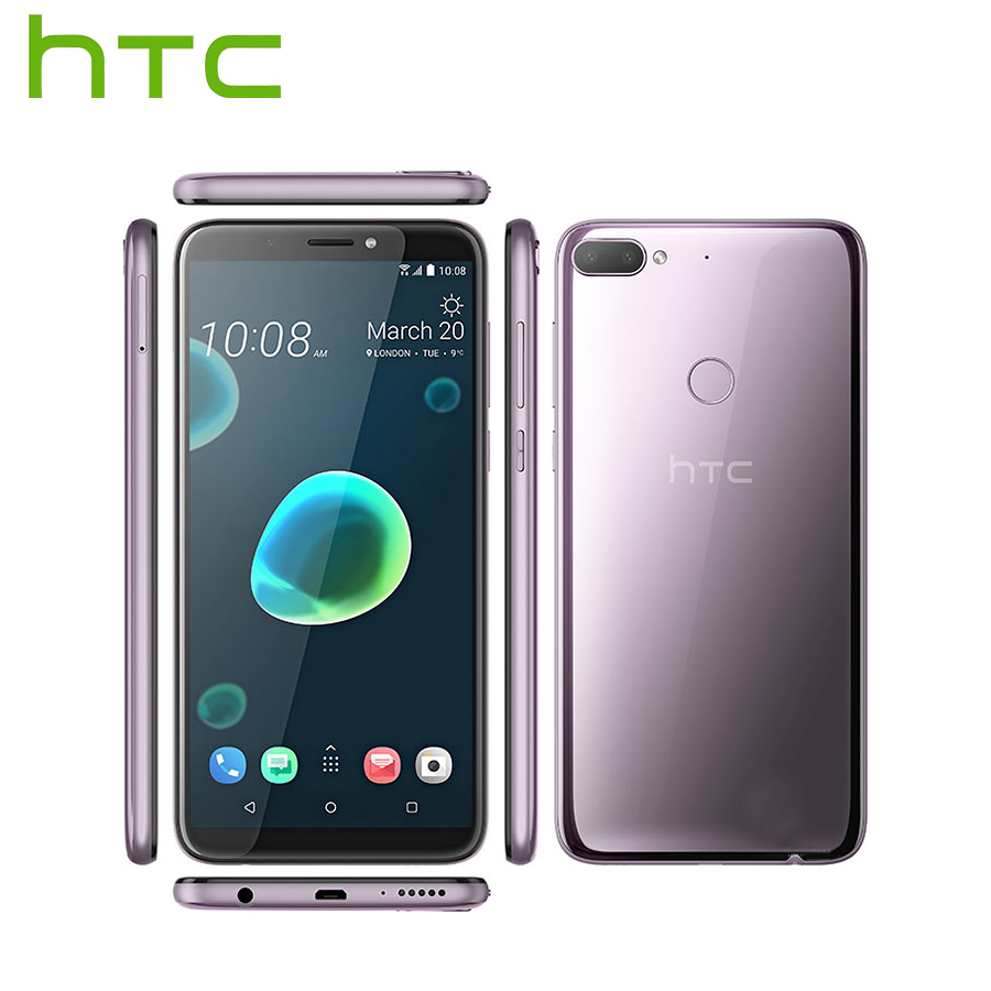 Brand New HTC Desire 12 Plus Mobile Phone Dual SIM 6.0 inch 3GB RAM 32GB ROM 13MP Snapdragon 450 Octa core Android 8 Smartphone