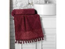 Полотенце для рук и лица KARNA, OTTOMAN, 50*90 см, бордо