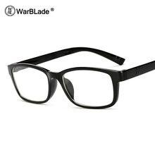 Suqare WarBLade 2018 Novos Óculos Homens Mulheres Designer de Marca Óculos de Armação vidros do Olho Óptico Óculos de Armação Óculos de grau