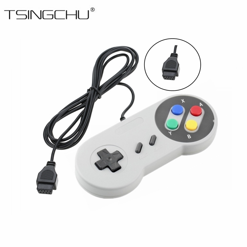 TSINGO 9Pin 1.5m Universal Joypad Joystick Gamepad For TV Handheld Game Player Game Controller For Nintendo Retro Game Console fast free ship for gameduino for arduino game vga game development board fpga with serial port verilog code