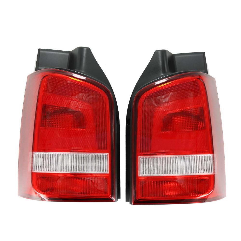 For VW T5 T6 Multivan Transporter 2010 2011 2012 2013 2014 2015 Car-styling Rear Lamp Tail Light rear bumper reflector vw t5 multivan transporter caravelle 2003 10 vw t5 transporter caravelle multivan ca244