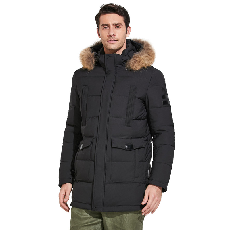 ICEbear 2018 High-quality Fashionable Winter Men's Jacket With Raccoon Fur Thick Warm Coat for Rest Excellent Parka 17MD901D hot sale high quality 5j j3j05 001 replacement projector bare lamp for benq mx760 mx761 mx762st mx812st with 180days warranty