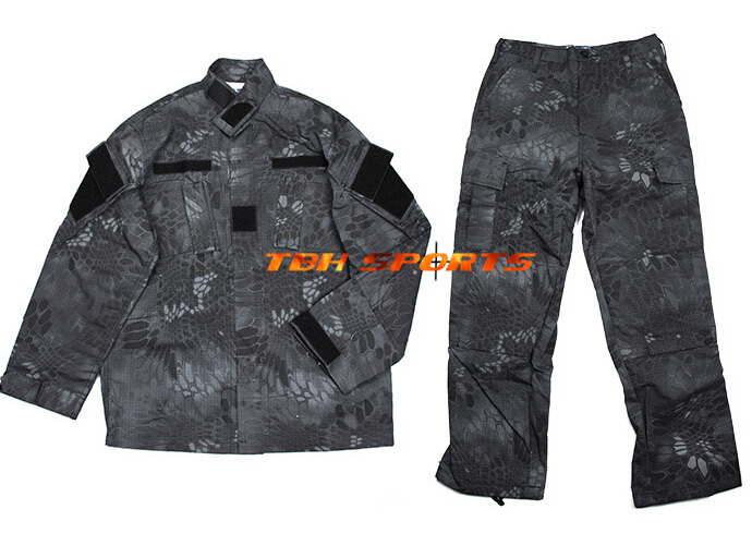 TMC SWAT Tactical R6 Prowls Night Camouflage Kryptek Typhon Tactical Uniform Free shipping SKU12050377
