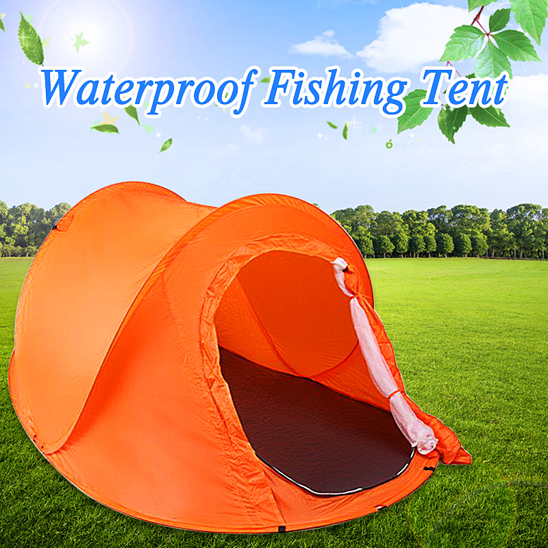 Outdoor Double 2 Persons Camping Tent Automatic Quick Open Waterproof Sunshade Canopy Beach Tent Hiking SunshelterOutdoor Double 2 Persons Camping Tent Automatic Quick Open Waterproof Sunshade Canopy Beach Tent Hiking Sunshelter