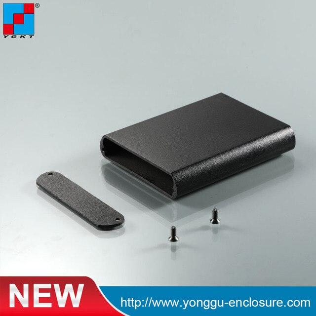 YGK-032 57.3*13-63 mm (WxH-L) custom aluminium extrusion box shell