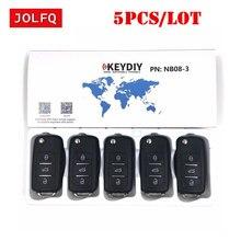 5 шт.) NB08 универсальный мульти-функциональный дистанционный ключ 3 кнопки NB серии ключ для KD900 URG200 ведущая станция дистанционного управления