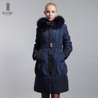 2014 2015 Winter Long Section Of Female Cotton Tie Fox Fur Hat