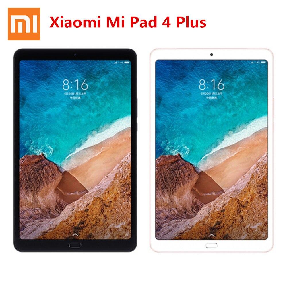 D'origine Xiaomi Pad 4 Plus Comprimés 10.1 ''Écran MIUI 9.0 Qualcomm Snapdragon 660 Visage Reconnaissance 4 gb RAM 64 gb/128 gb MEM