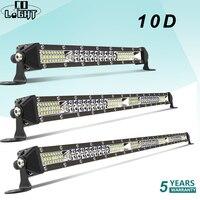 CO LIGHT 10D 10 20 30 inch 52W 104W 156W LED Work Light Bar Combo 4x4 Offroad LED Light Bar for Tractor Boat 4WD 4x4 Trucks ATV