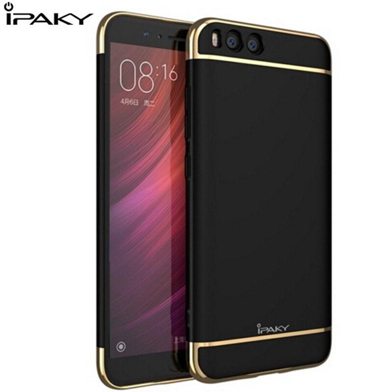 Ipaky original für xiaomi mi6 case luxus 3in1 hartmetall überzug case für xiaomi mi 6 m6 mi5 pro prime phone rückseitige abdeckungs fundas