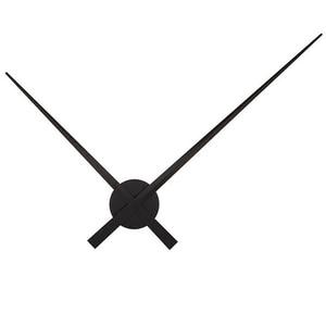 DIY большие 3D настенные часы кварцевые Стрелка для часов короткие diy часы для гостиной большие наклейки декоративные horloge murale металлический циферблат