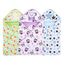 Весенне летнее одеяло из 100% хлопка для новорожденных тонкое
