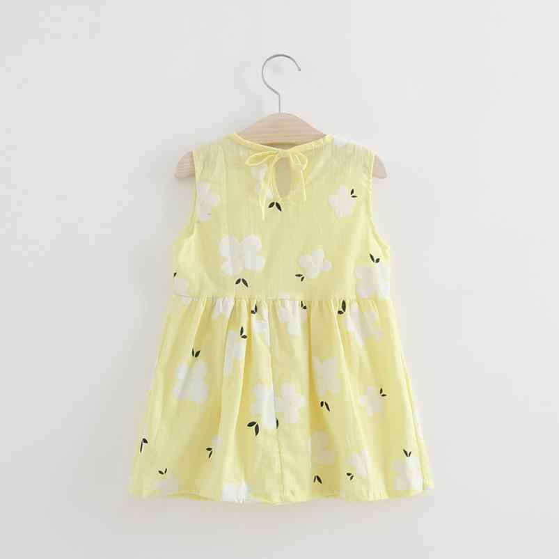 Toddler Girls Summer Princess Dress Kids Baby Party Wedding Sleeveless Dresses Princess Dress 15