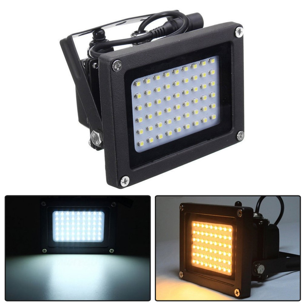54 LED Solar Powered LED Flood Light Radar Induction IP65 Waterproof Super Bright Garden Lawn Yard Outdoor Lamp White/Warm White 150 leds solar powered led flood light radar induction spotlight ip65 waterproof outdoor lamp for garden lawn pool yard 2 color