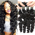Mongolian Virgin Hair Loose Wave 3 Bundles Unprocessed Human Hair Mongolian Hair Weave Bundles Mongolian Loose Wave Virgin Hair