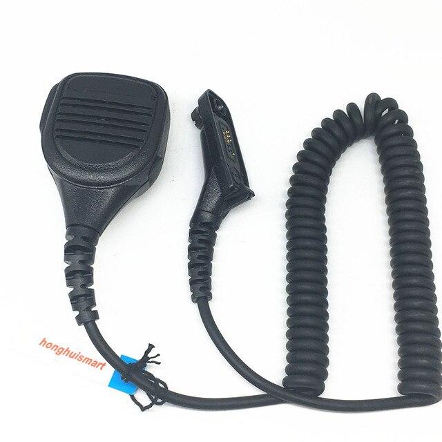 Microphone altavoz para Motorola Xir P8268 P8668 DGP6150 DP3400 DP4601 DP4800 APX2000 etc, walkie talkie con conector adicional de 3,5mm
