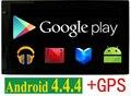 """Dual core 7 """"pulgadas de Doble 2 Din Android 4.4 Radio de Coche Universal en el tablero de Coches Reproductor de DVD de Navegación GPS PC Del Coche de vídeo Estéreo"""