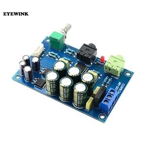 TPA6120 Headphone Amplifier Board HIFI TPA6120A2 Enthusiast Headphones AMP Amplificador Zero Noise Diy