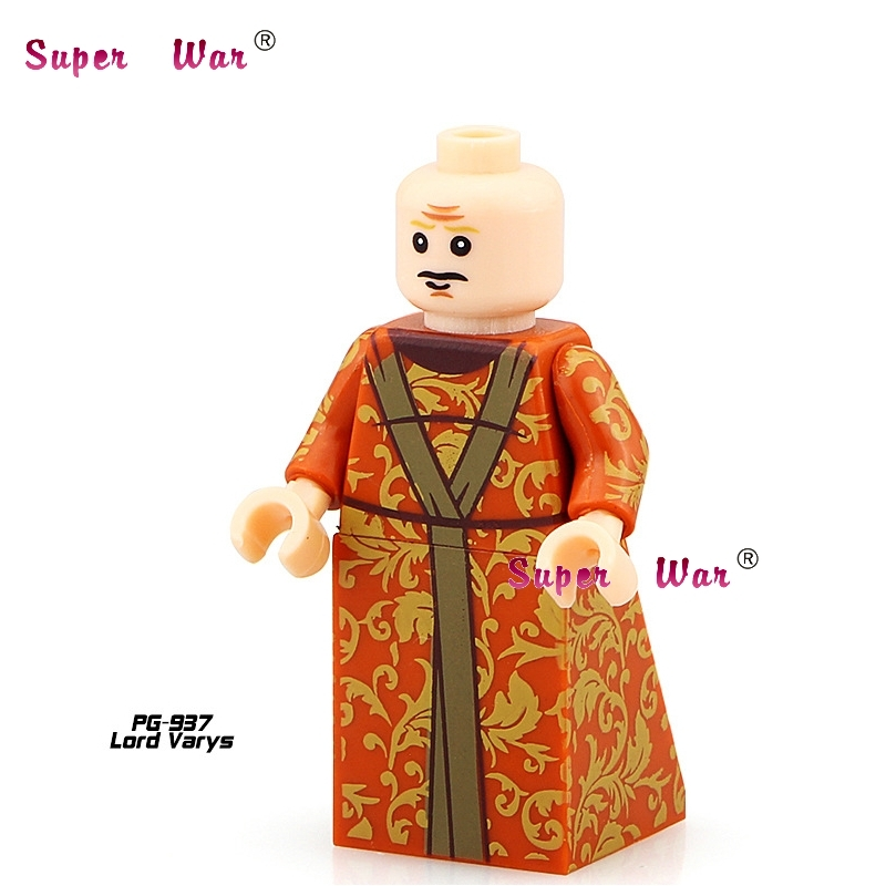 1PCS star wars superhero marvel Game of Thrones Lord Varys building blocks action model bricks toys for children