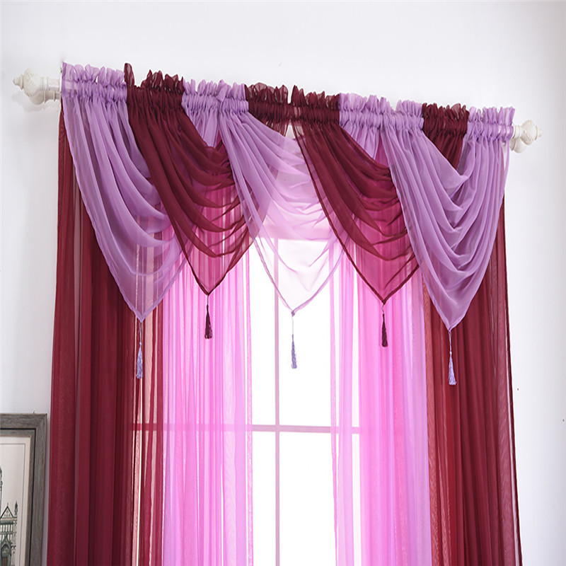 Aliexpress.com : Buy Voile Curtain Swags All Colours