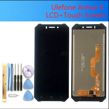 5.5 inch FOR ULEFONE ARMOR X LCD Display+Touch Screen Digitizer Assembly 100% Original New LCD+Touch