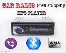 Nouvelle arrivée De Voiture Bluetooth MP3 Player Support USB/SD/MMC Lecteur de Carte De Voiture Stéréo FM Radio Audio Joueurs pour Camion Taxi