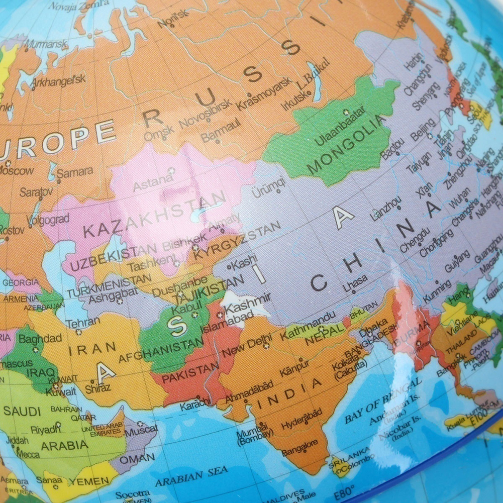 Schule & Educational Supplies Office & School Supplies 20 Cm Weiß Welt Karte Globus Mit Swivel Stand Geographie Pädagogisches Spielzeug Verbessern Wissen Von Erde Und Geographie
