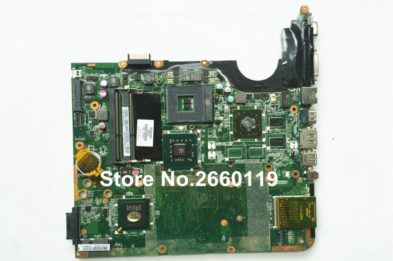 laptop motherboard for HP DV7 578131-001 system mainboard fully tested and working well 600862 001 mainboard for hp dv7 laptop motherboard 100