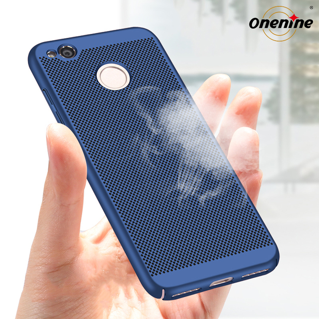 cheap for discount b2b95 af771 US $1.89 5% OFF Onenine Mesh Hard Case Back Cover for Xiaomi Redmi 4X Case  Plastic 360 Protection Breathing Holes Phone Funda Redmi 4X Pro 5.0-in ...