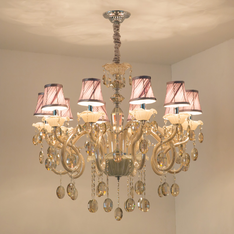 Crystal Chandelier Grades: Brand Lamps Lanterns European Style Luxury Crystal