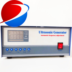 1200 W/28 KHZ/41 KHZ/123 KHZ wielu częstotliwości i wysokiej mocy ultradźwiękowe oscylator czyszczenia Generator dla przemysłowe ultradźwiękowe w Części do myjek ultradźwiękowych od AGD na