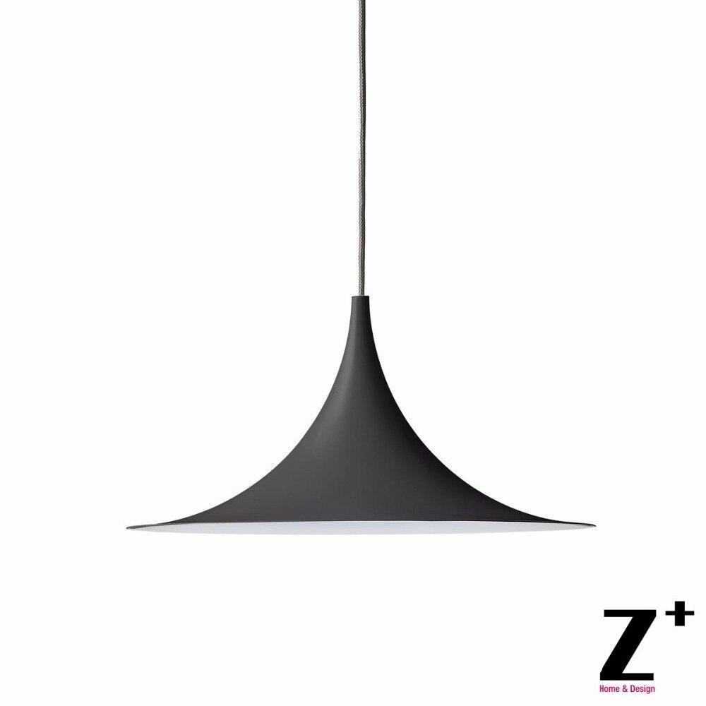 D48cm tromba lampade a sospensione moderna lampada minimalismo free libero