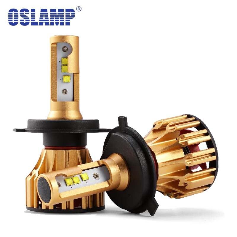 Oslamp H4 Led Phare De Voiture Ampoules 70 w 7000lm SMD Auto Projecteur H4 Led pour Toyota/Highlander/4 coureur/Tercel/Terre/Higlander/Supra