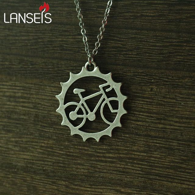 1pcs rider bicycle pendant necklace beautiful unique charm jewelry 1pcs rider bicycle pendant necklace beautiful unique charm jewelry outdoor riding friend commemorate witness of aloadofball Gallery