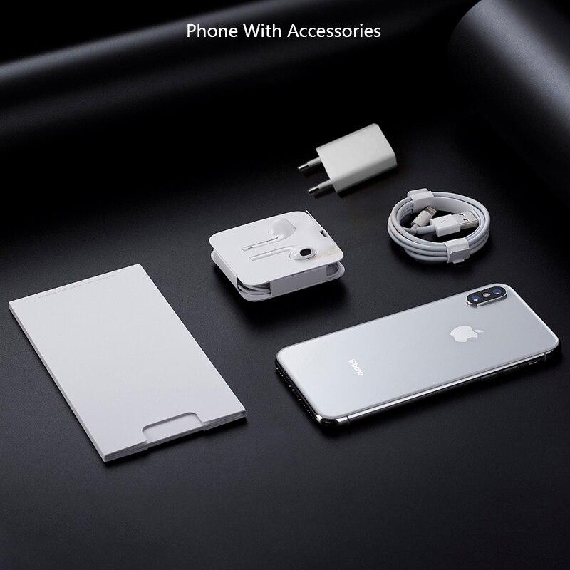 Original Unlocked Apple Iphone X Face ID 64GB/256GB ROM 3GB RAM 5.8 Inch Hexa Core Ios A11 12MP Dual Back Camera 4G LTE