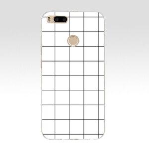 157SD Роскошный Ретро черный белый сетчатый Мягкий Силиконовый ТПУ чехол для телефона для xiaomi redmi 4A 4X note 4 4x mi A1 A2 lite