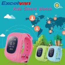 Reloj Del Teléfono inteligente Niños Kid Reloj G36 Q50 GSM GPRS GPS Localizador Rastreador Anti-perdida Smartwatch Niño Guardia para iOS Android