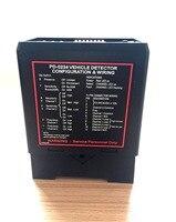 PD0234 dual kanal induktive fahrzeug schleife detektor sensor für schaukel schiebe tor motor Schranke parkplatz system-in Zugangs Control Kits aus Sicherheit und Schutz bei